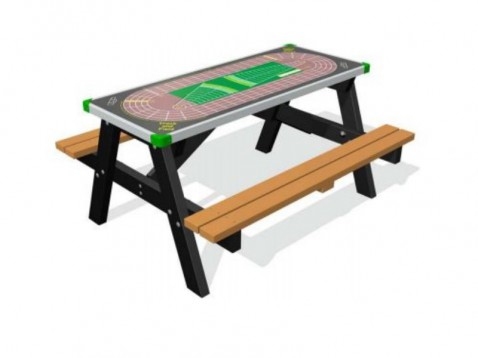 Bordspel picknicktafel
