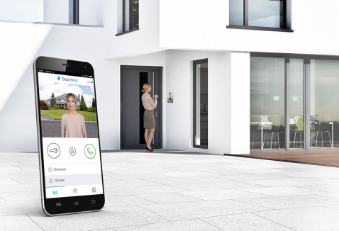 IP Video intercom met App