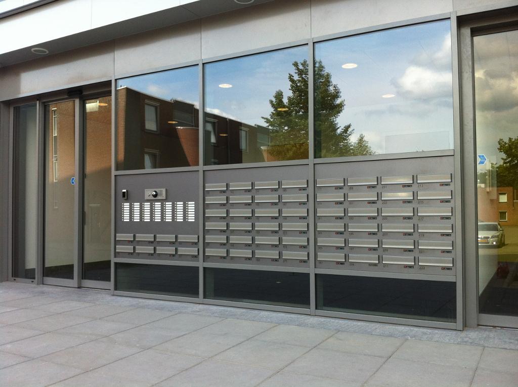 Entree appartementencomplex nieuws - Entree appartement ontwerp ...