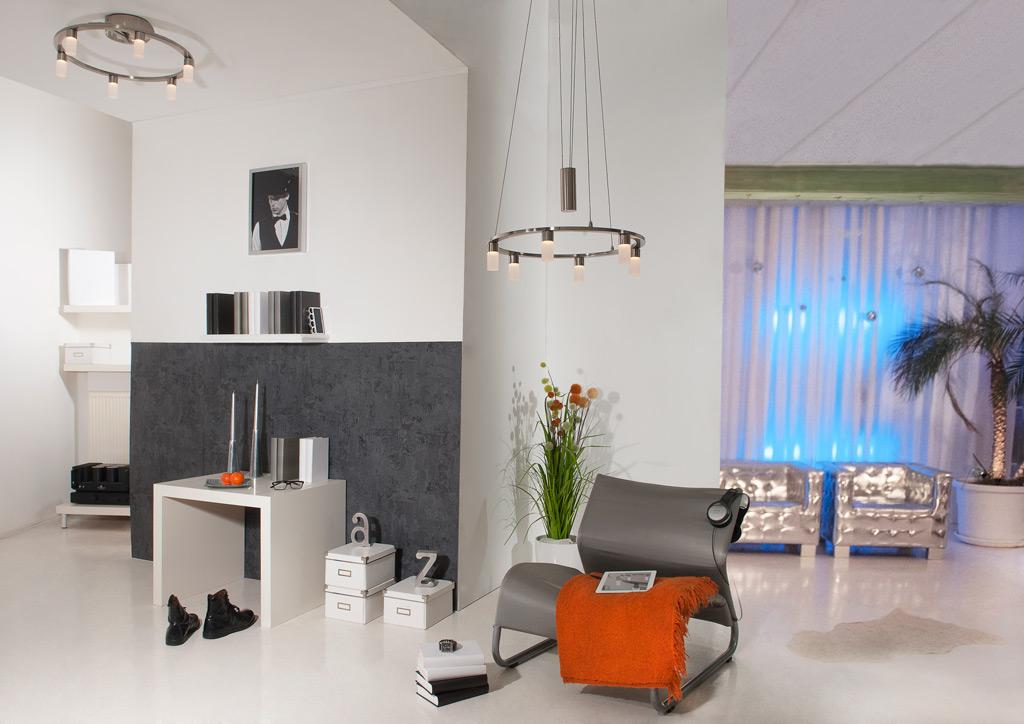 Moderne woonkamer: moderne verlichting noodzakelijk - Nieuws ...