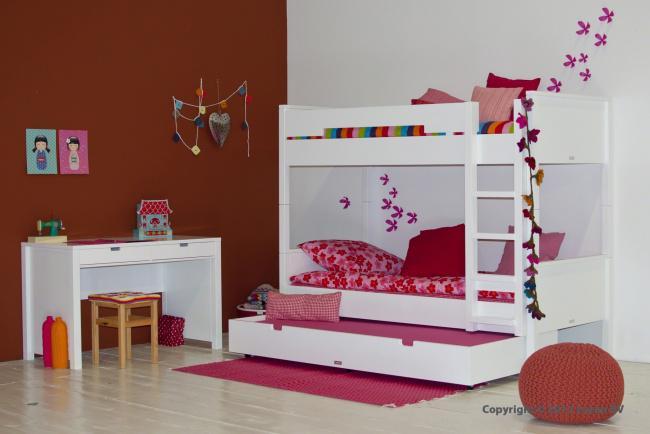 Het inrichten van een kleine kinderkamer nieuws - Stapelbed kleine kamer ...