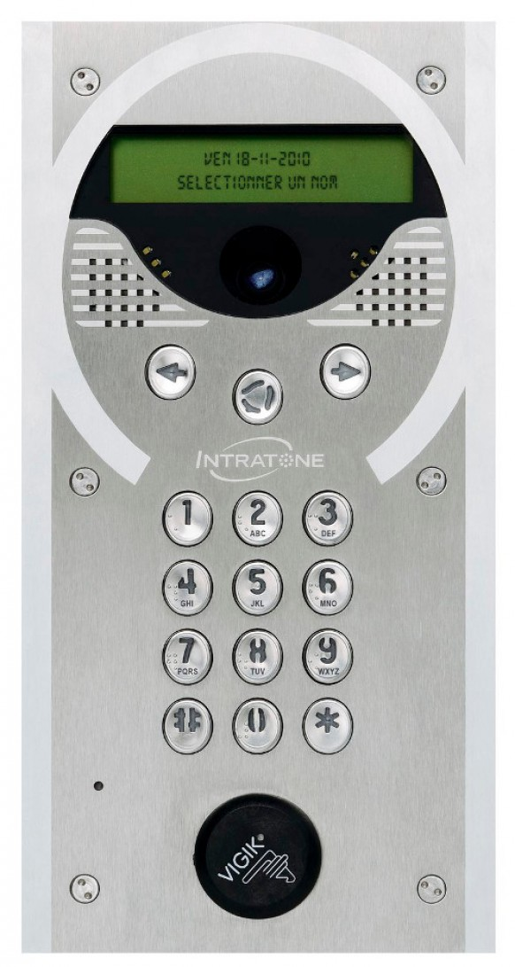 Innovatieve intercom van Intratone
